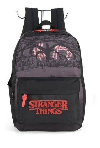 Mochila Luxcel Stranger Things Netflix Produto Licenciado