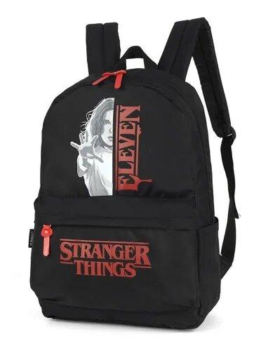 Mochila Unissex Stranger Things Eleven Oficial Série NetFlix