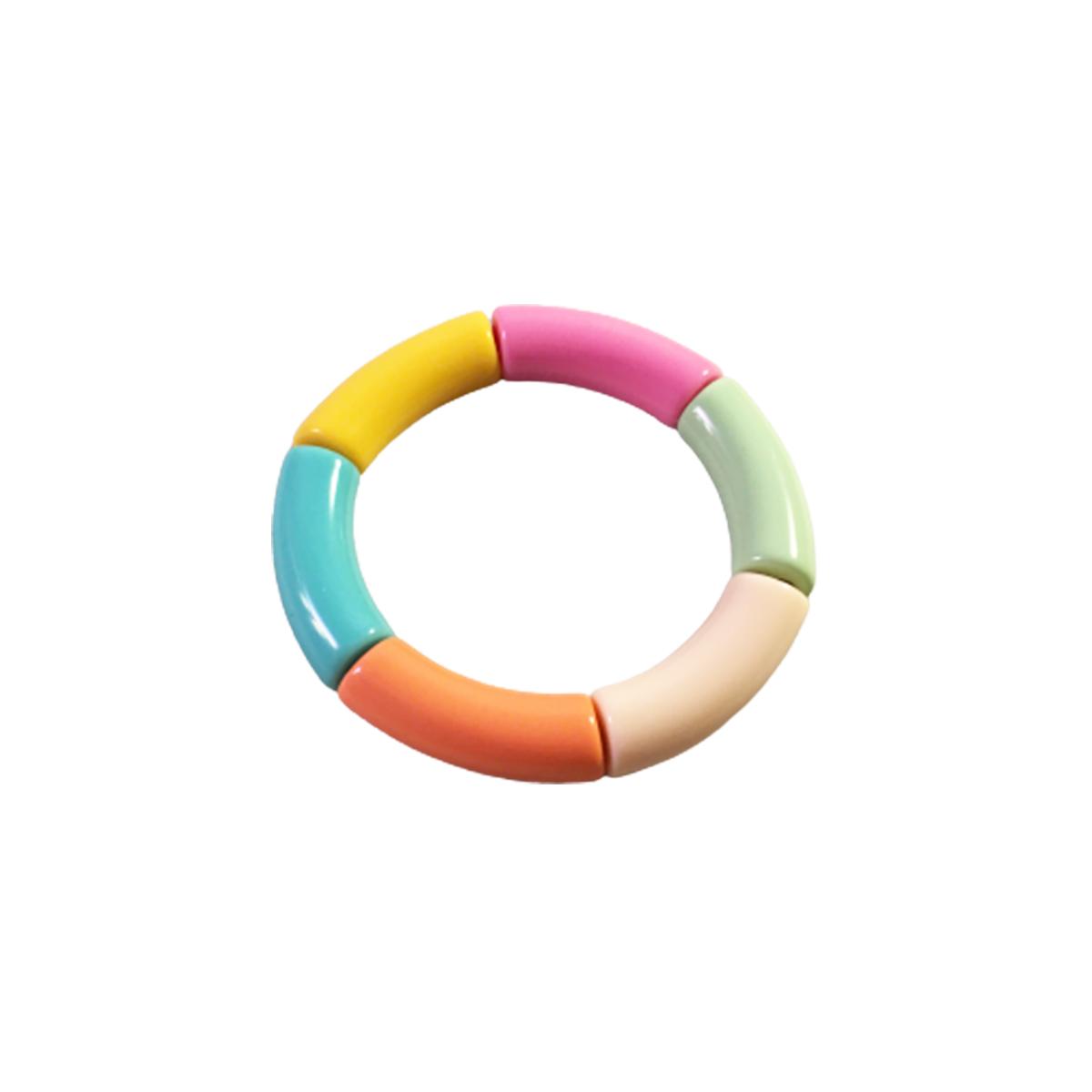Pulseira Bracelete Feminino Color Acrílico Moda