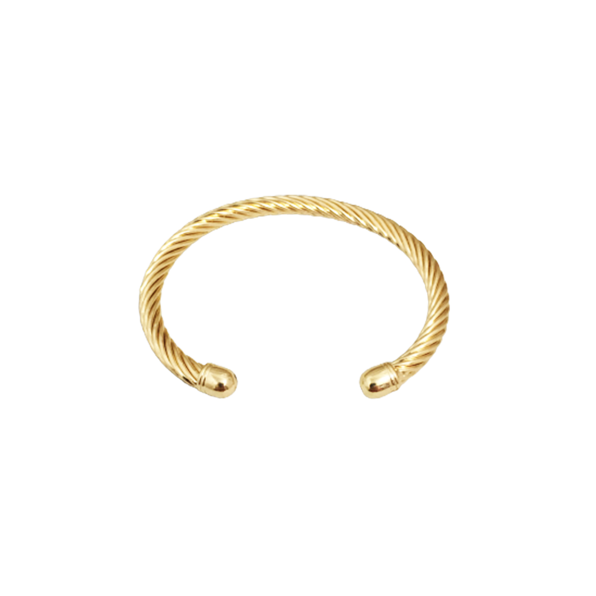 Pulseira Bracelete Feminino Trançado Espiral Super Lindo
