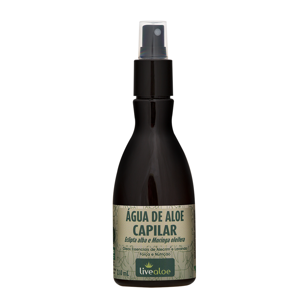 Água Capilar Natural e Vegana Livealoe 210 ml
