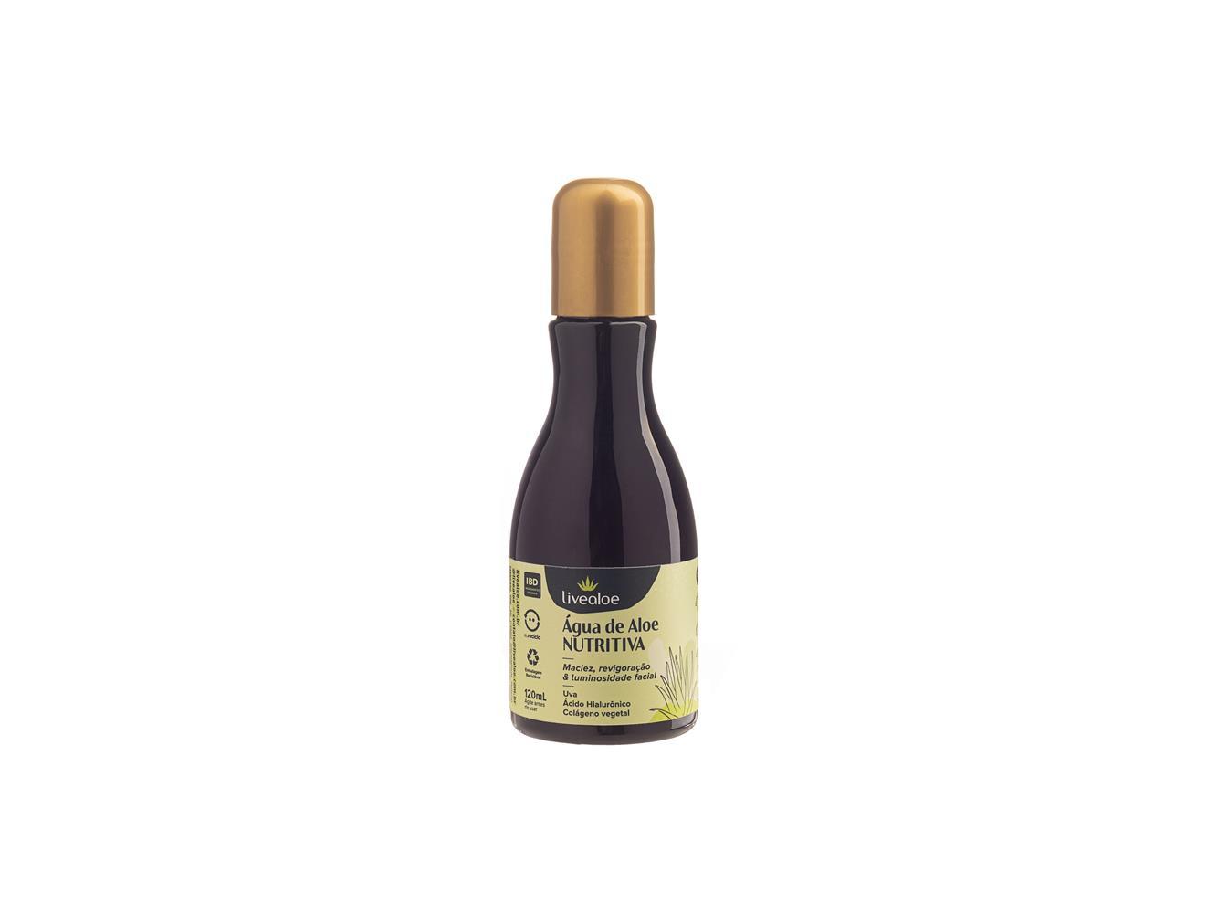 Água de Aloe Nutritiva Livealoe 120 ml