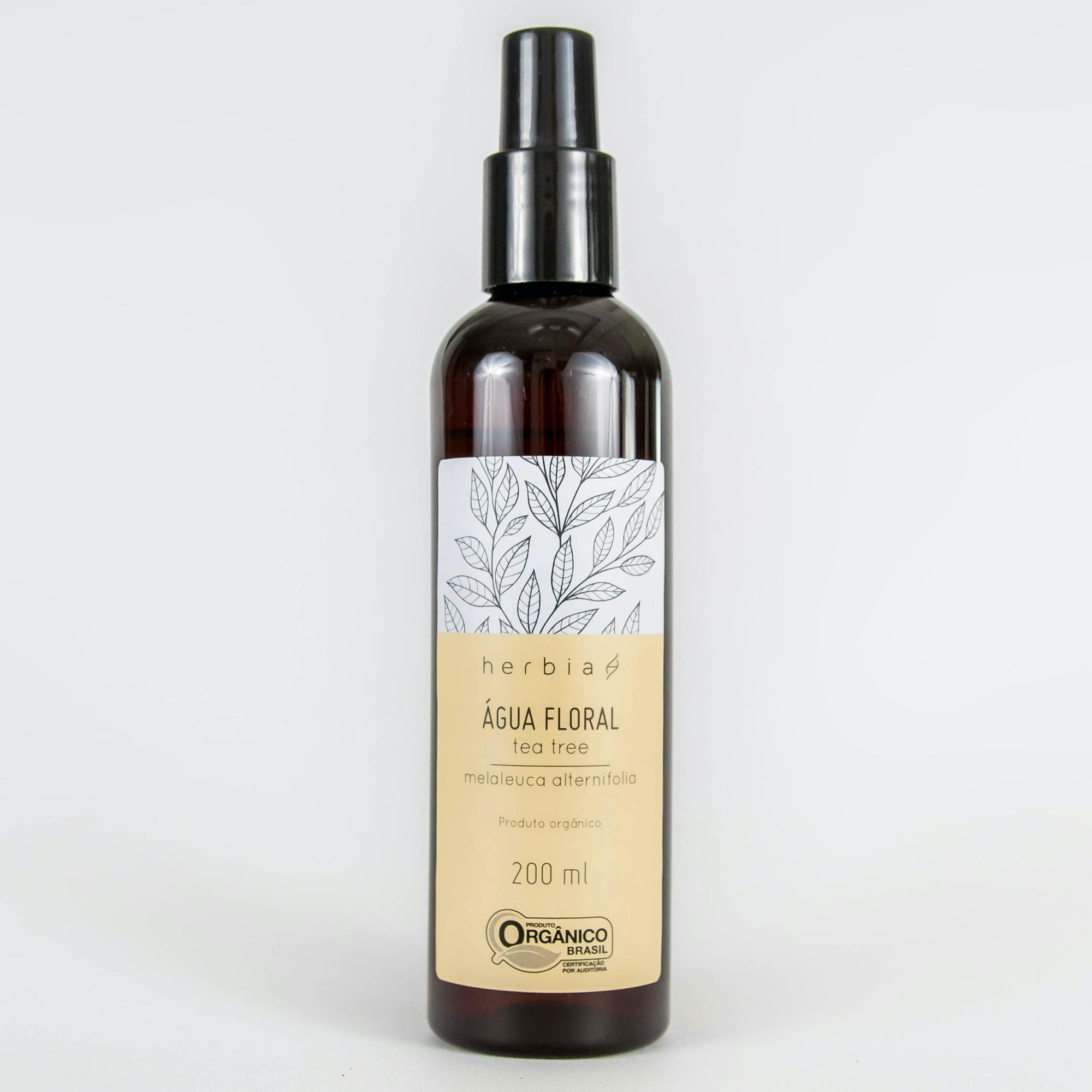Água Floral Orgânica Herbia de Tea Tree 200 ml
