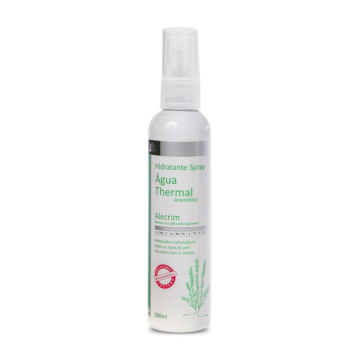 Água Thermal Natural e Vegana Alecrim WNF 200 ml