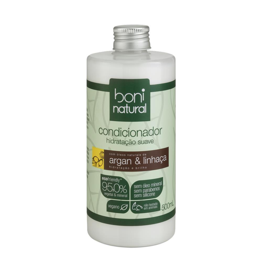 Condicionador Argan e Linhaça Boni 500 ml