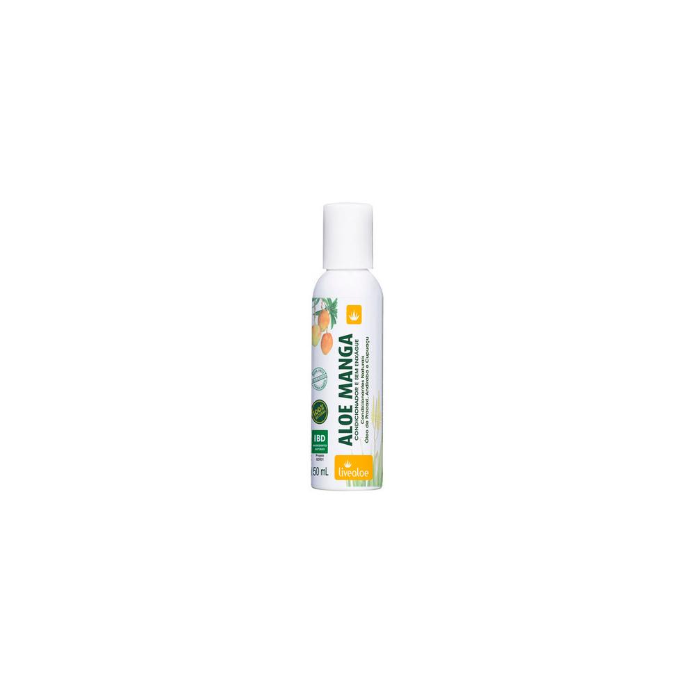 Condicionador e Creme sem Enxague Natural e Vegano Aloe Manga Livealoe 150 ml