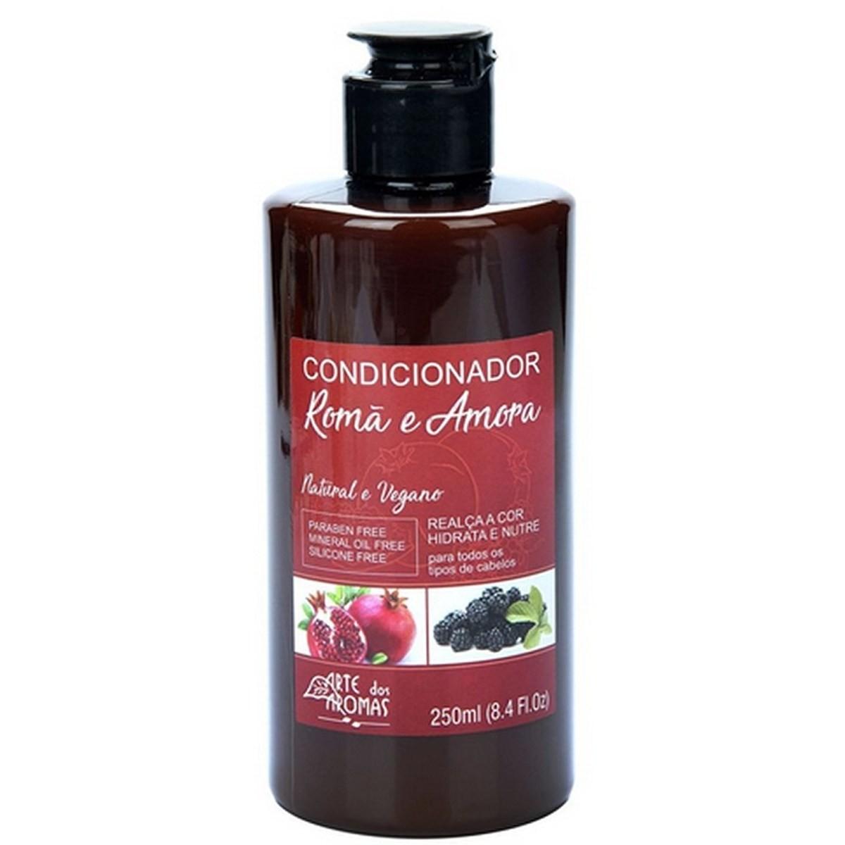 Condicionador Natural e Vegano Romã e Amora Arte dos Aromas 250 ml