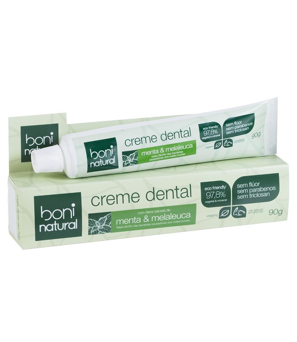 Creme Dental Natural e Vegano Boni 90 g