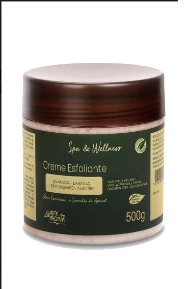 Creme Esfoliante Natural e Vegano Apricot Arte dos Aromas 500g