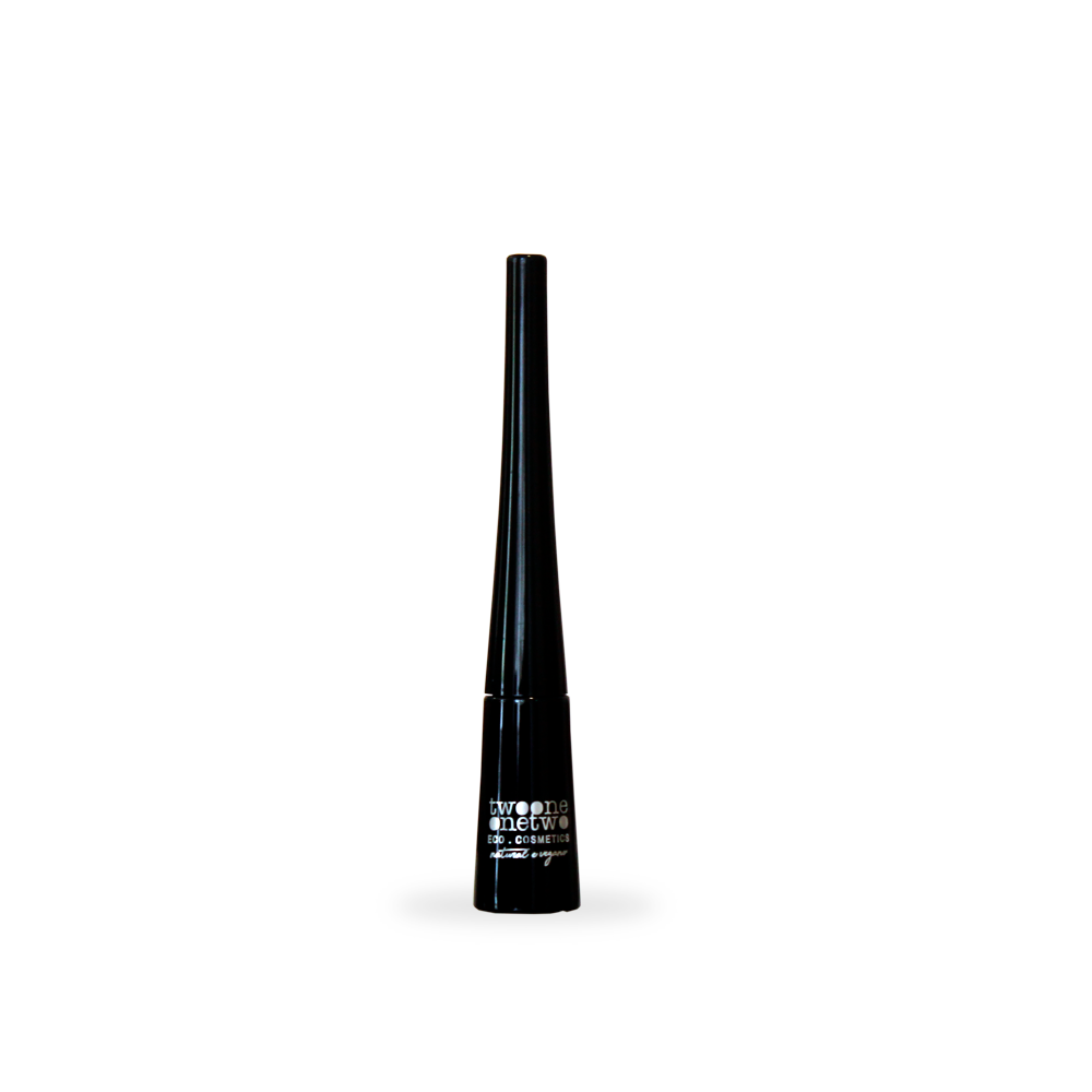 Delineador Líquido Natural e Vegano Intense Black Twoone Onetwo 2,5 ml