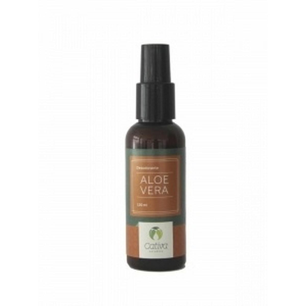 Desodorante Natural e Vegano Aloe Vera Cativa Natureza 120 ml