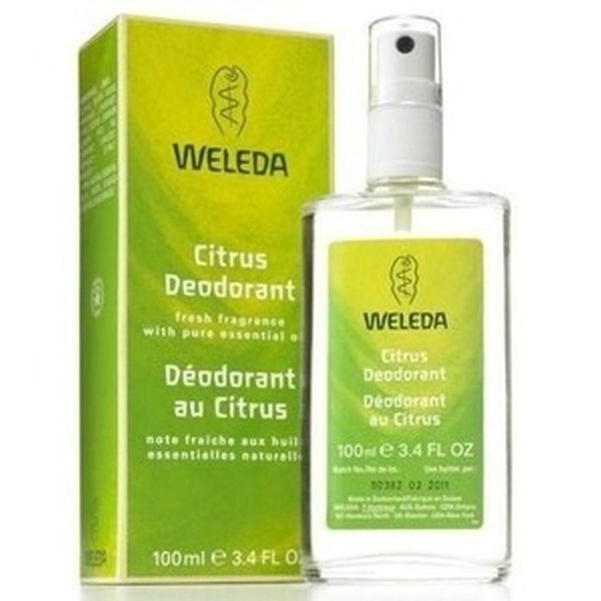 Desodorante Natural e Vegano Citrus Weleda 100 ml