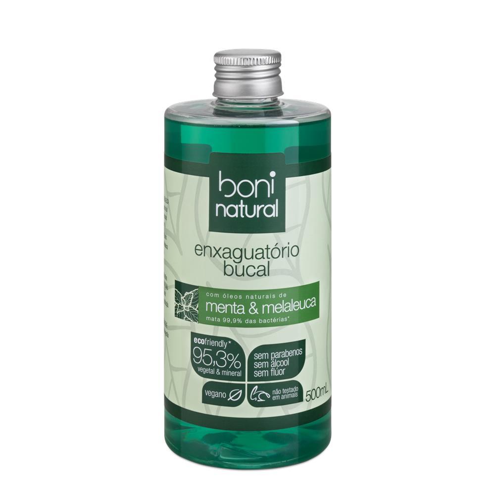 Enxaguante Bucal Natural e Vegano Boni 500 ml