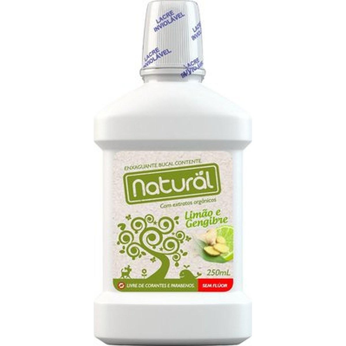 Enxaguante Bucal Natural e Vegano Contente 250 ml