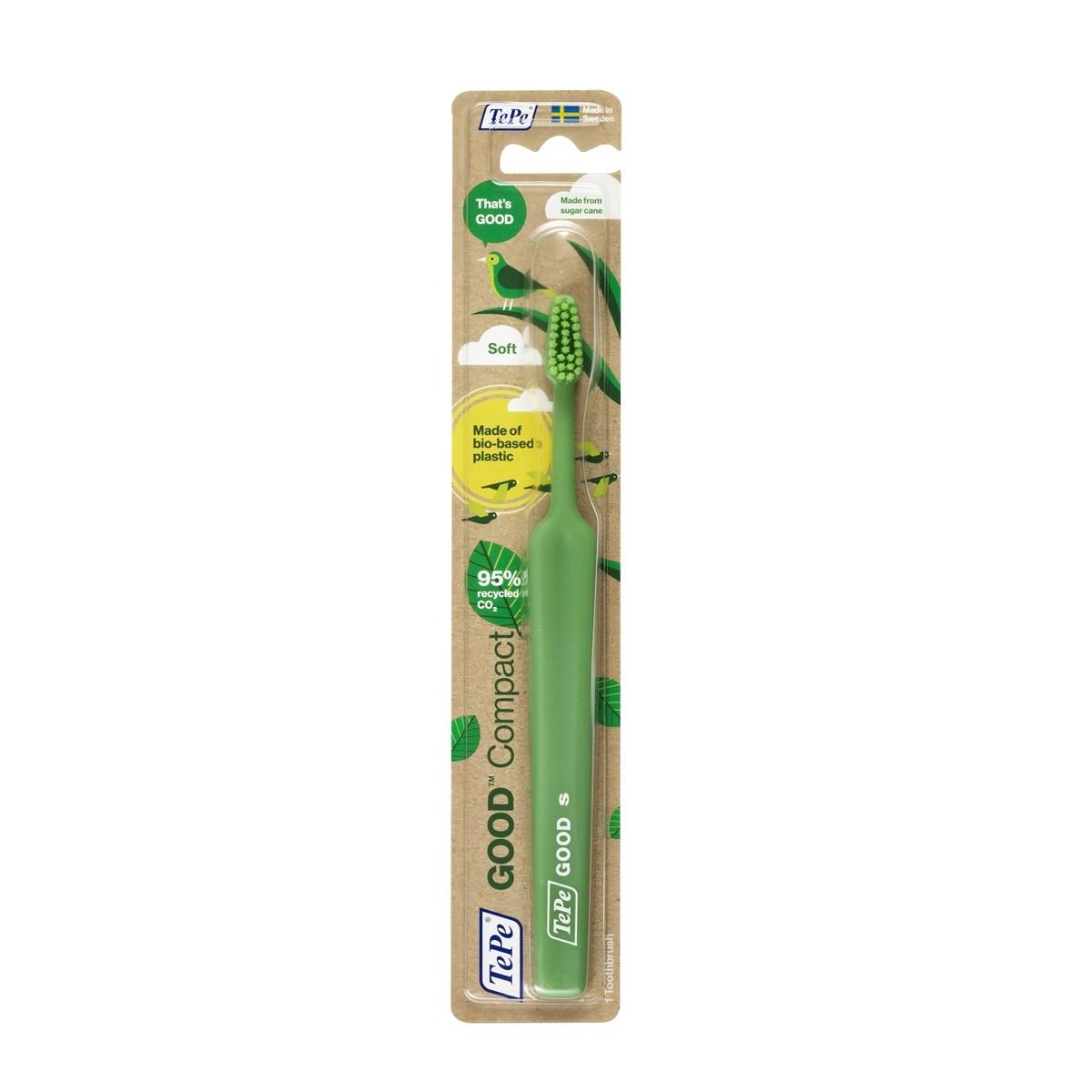 Escova de Dente Ecológica Compacta TePe GOOD
