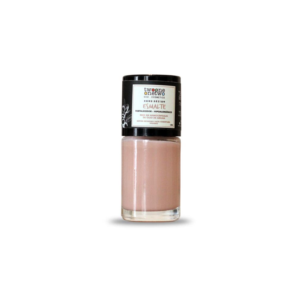 Esmalte Natural e Vegano Hipoalergênico e Fortalecedor Golden Sands TwoOne OneTwo 10 ml