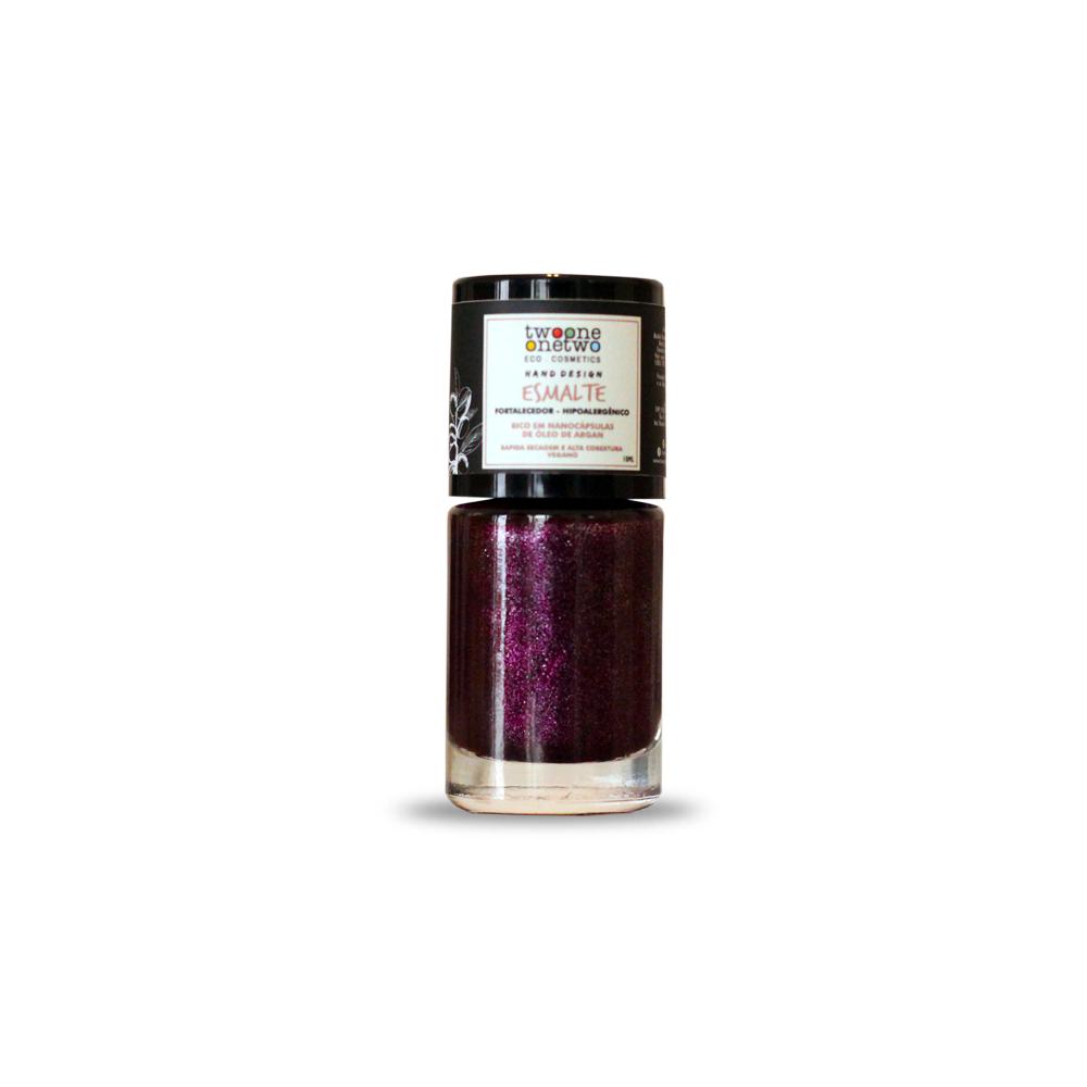 Esmalte Natural e Vegano Hipoalergênico e Fortalecedor Pink TwoOne OneTwo 10 ml