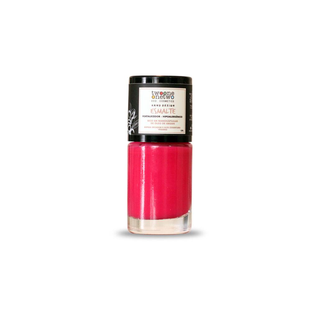 Esmalte Natural e Vegano Hipoalergênico e Fortalecedor Rose Dream TwoOne OneTwo 10 ml