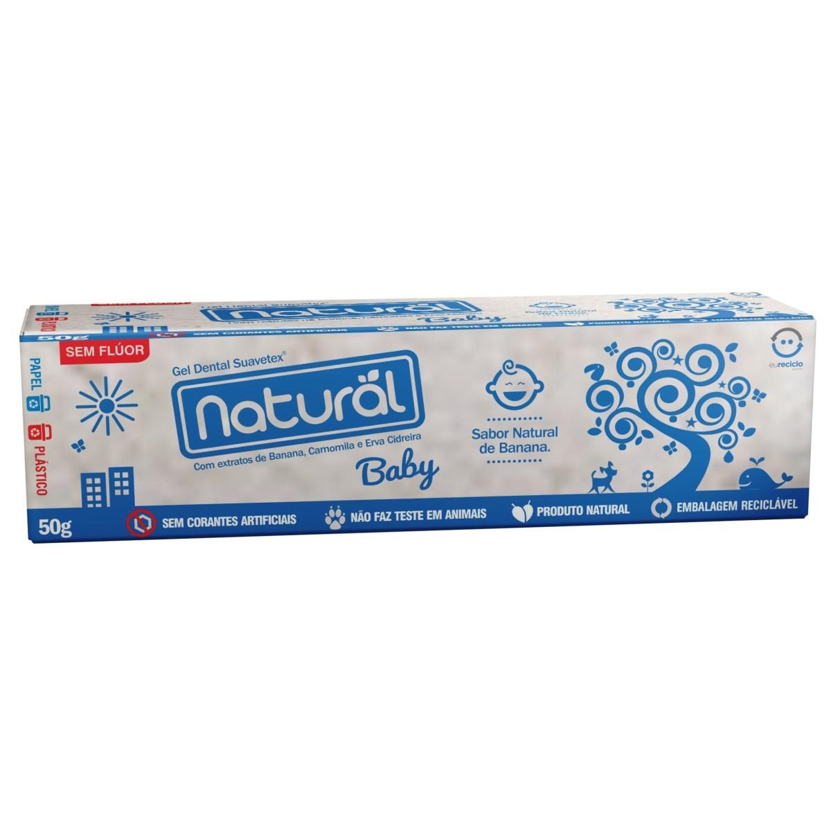 Gel Dental Natural e Vegano Baby 50 g