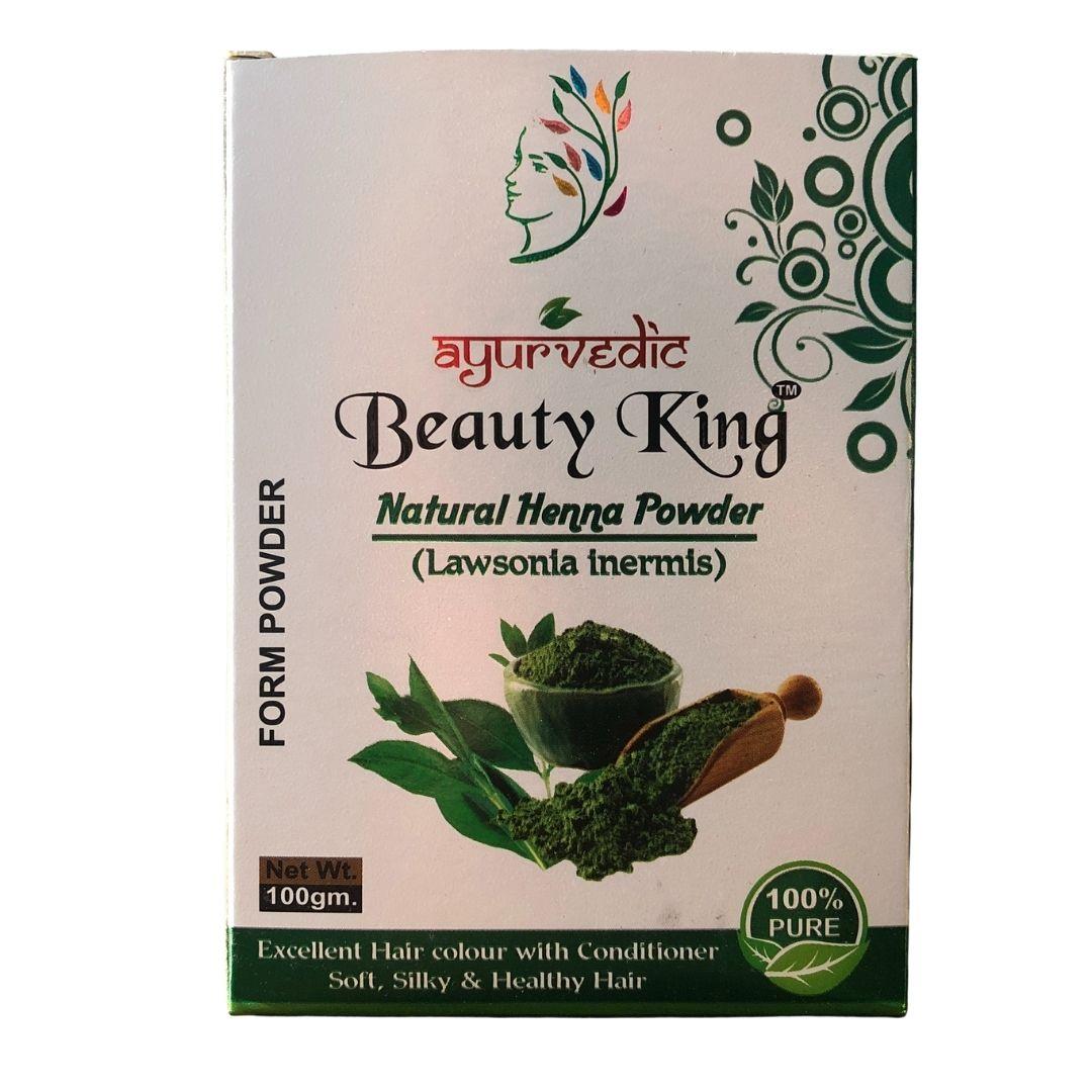 Henna em Pó Natural e Vegana Ayurvedic 100g
