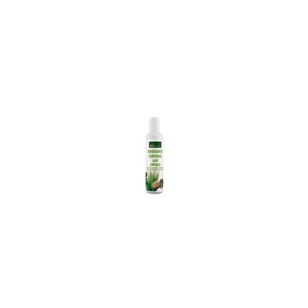 Hidratante Corporal Aloe Cupuaçu Natural e Vegano Livealoe 200 ml