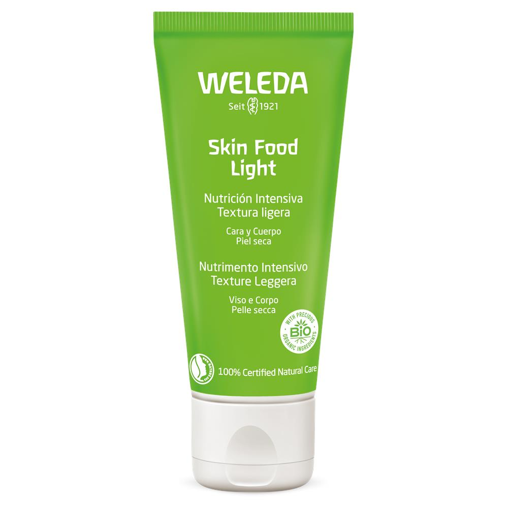 Hidratante Facial e Corporal Natural Skin Food Light Weleda 30 ml