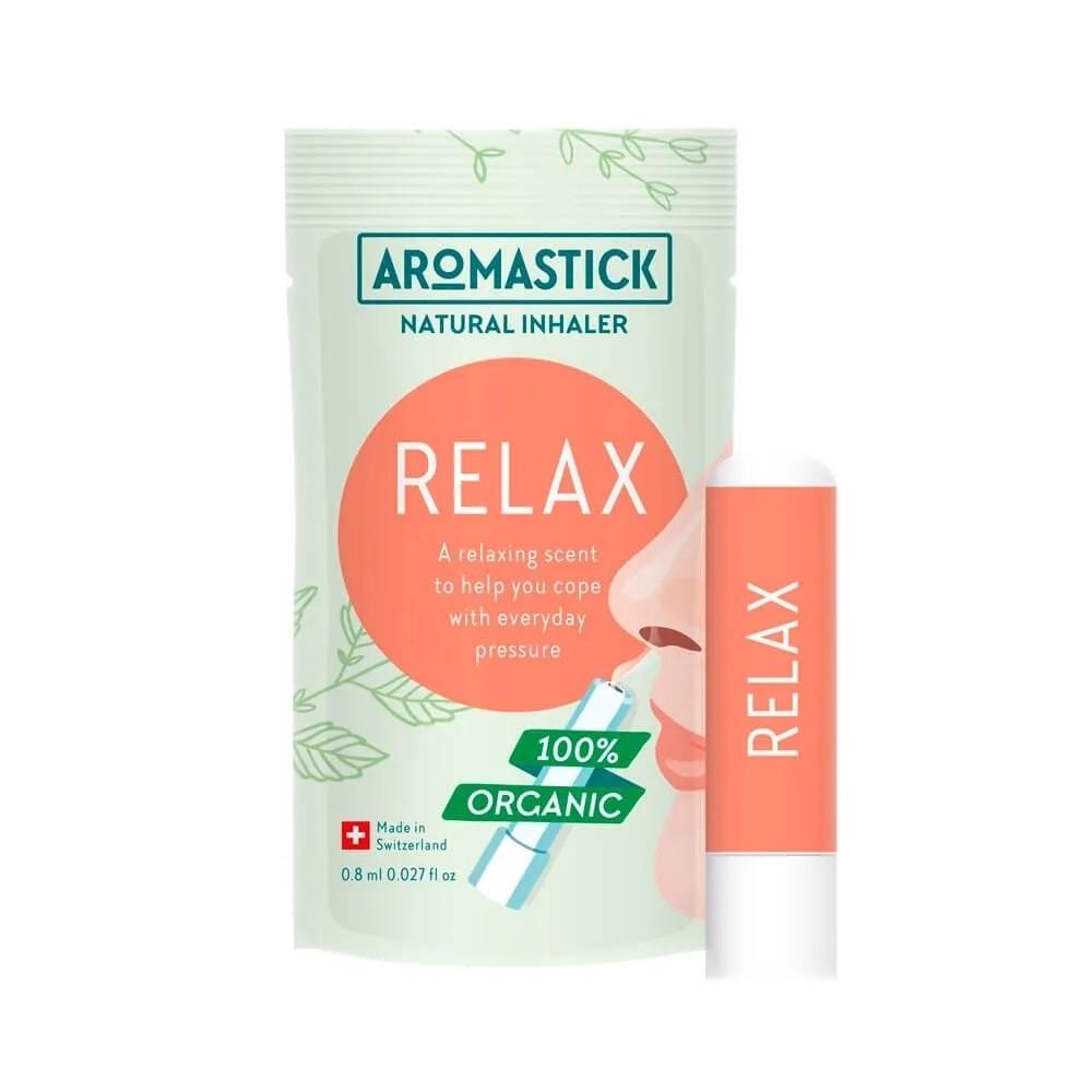 Inalador Nasal Natural e Vegano Relax Aromastick