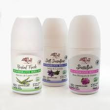 Kit 3 Desodorante Roll-on Vegano Sortido Arte dos Aromas 50 ml