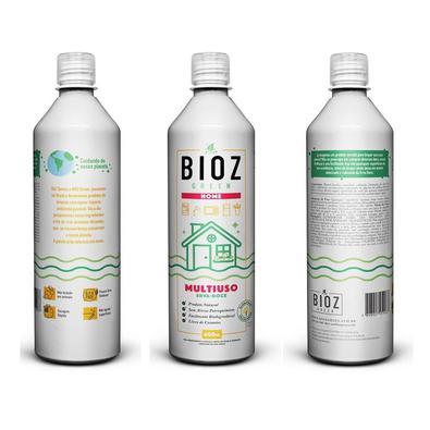 Kit 3 Limpador Multiuso Natural Erva Doce 600 ml Bioz Green