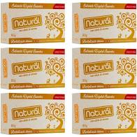 Kit 6 Sabonete Natural Vegano Curcuma 80g Suavetex
