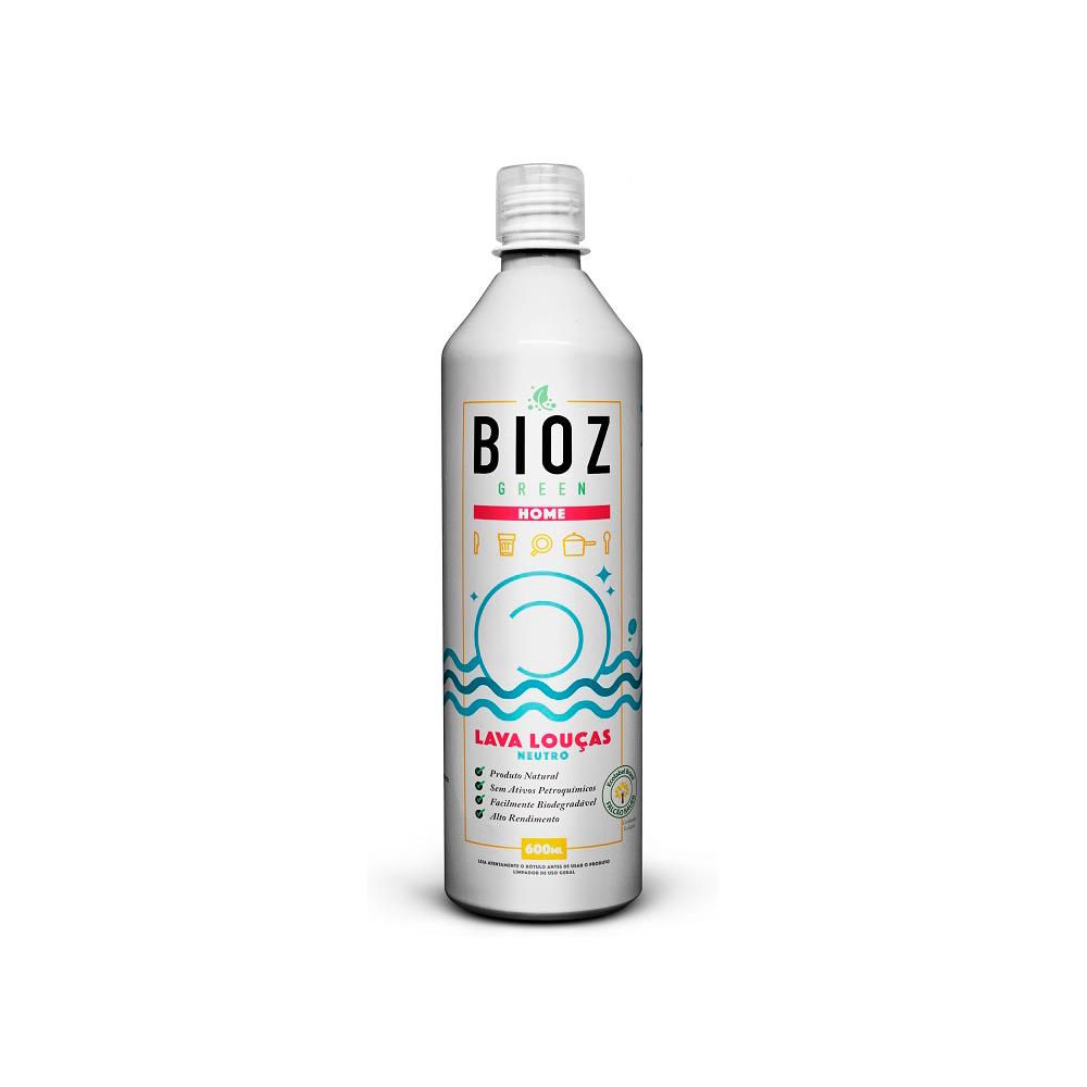 Lava Louças Neutro Natural e Vegano BioZ 600 ml