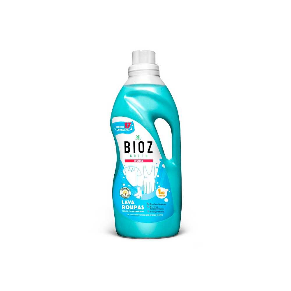 Lava Roupas Natural e Vegano BioZ 1 litro