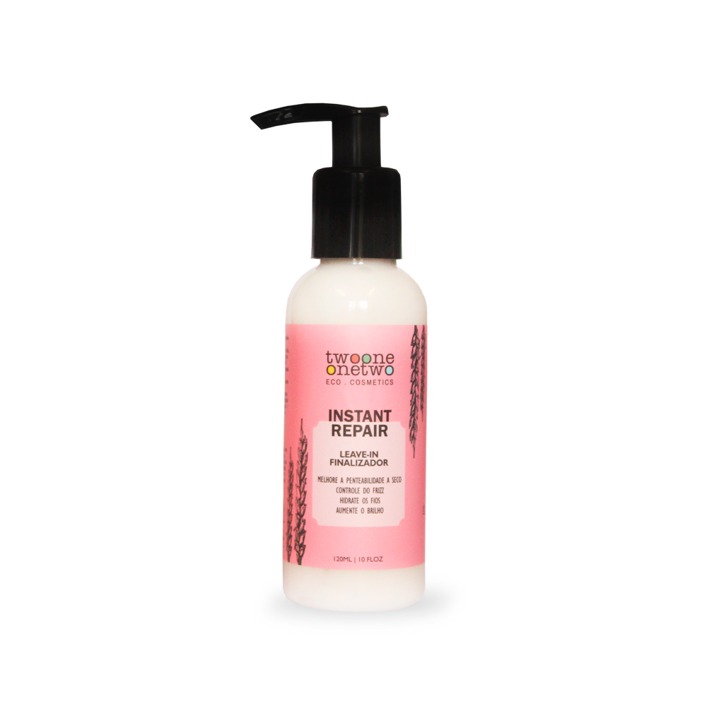 Leave-in Natural e Vegano Instant Repair Twoone Onetwo 120ml