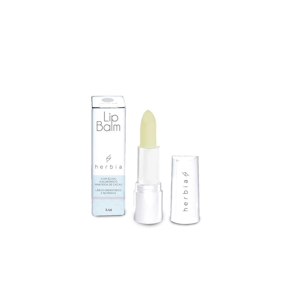 Lip Balm com Ácido Hialurônico Natural e Vegano 3,4 g