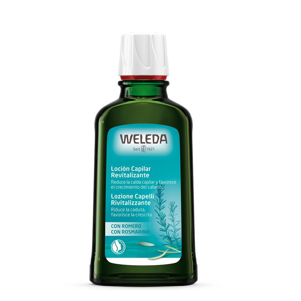 Loção Capilar Fortalecedor de Alecrim Natural e Vegana Weleda  100 ml