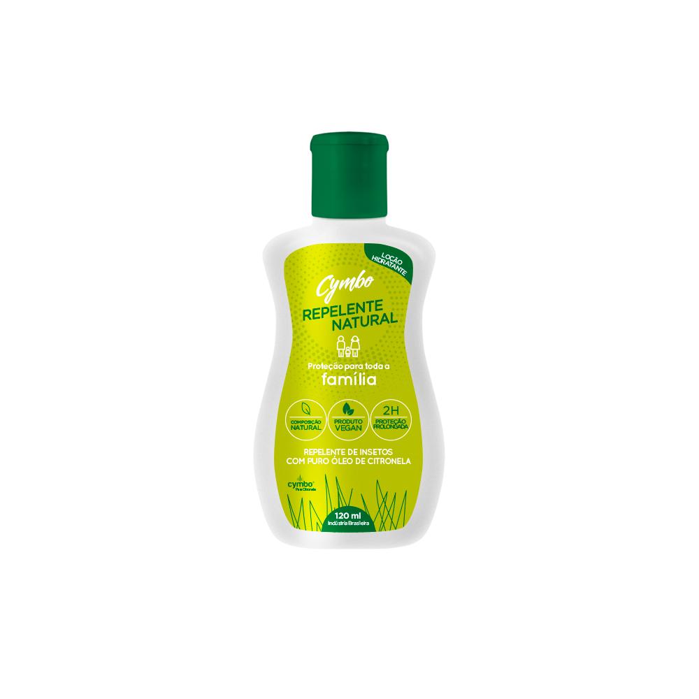 Loção Repelente Natural e Vegana Cymbo 120 ml