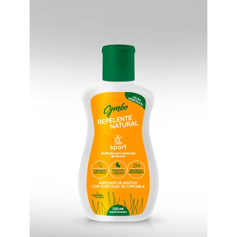 Loção Repelente Natural e Vegana Sport Cymbo 120 ml
