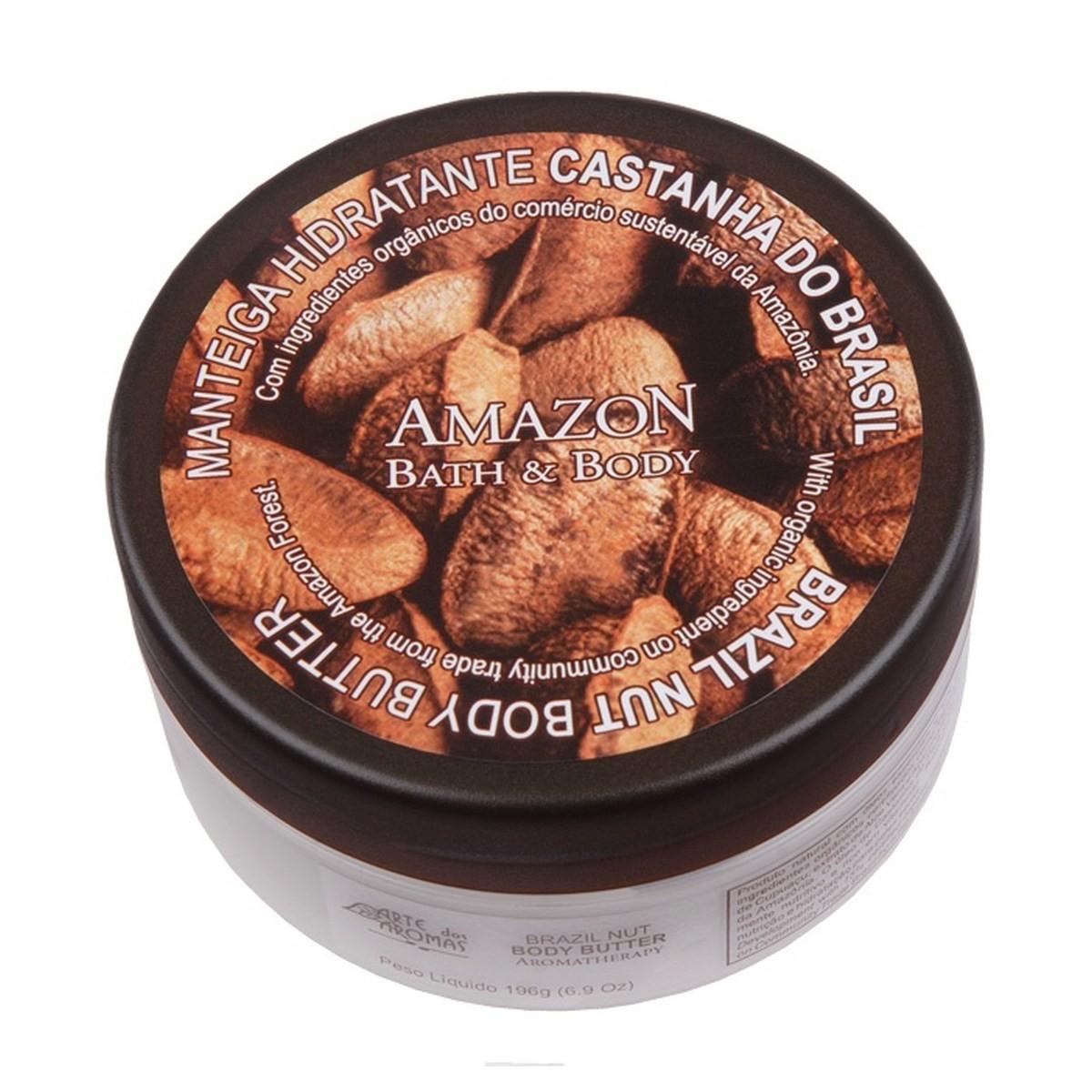 Manteiga Hidratante Castanha do Brasil Arte dos Aromas 196 g