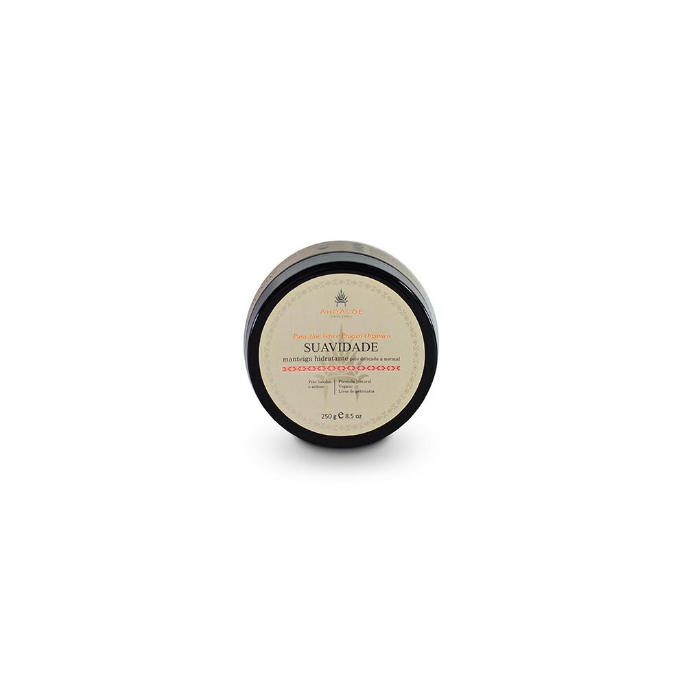Manteiga hidratante Natural e Vegana AhoAloe Suavidade 250 g