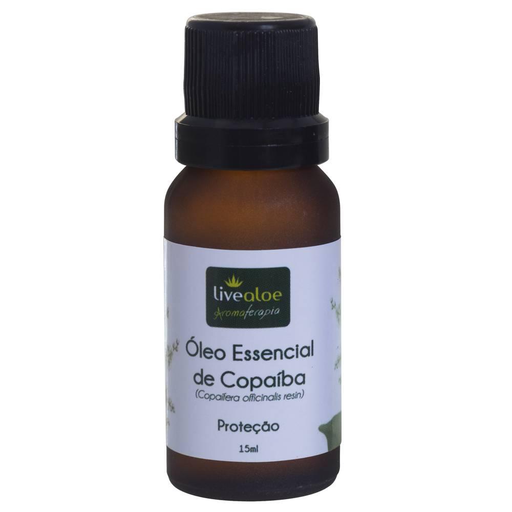 Óleo Essencial de Copaíba Livealoe 15ml