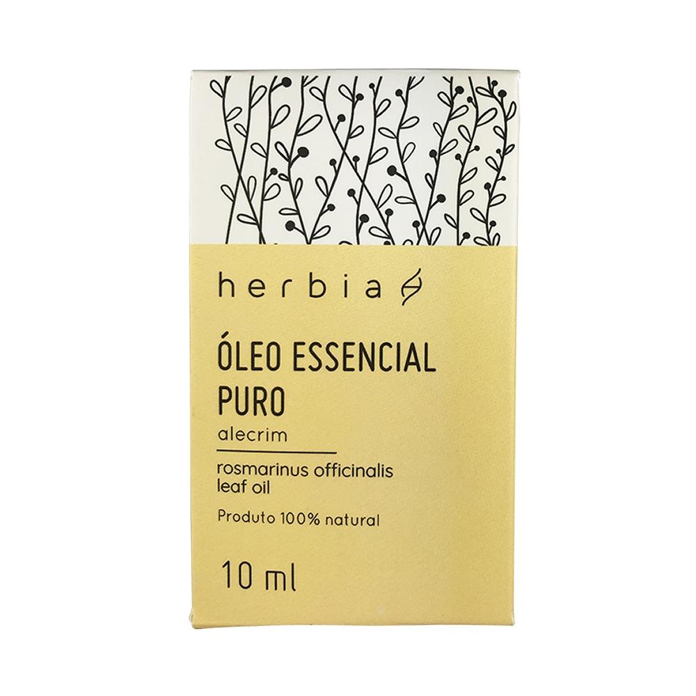 Óleo Essencial Herbia de Alecrim 10 ml