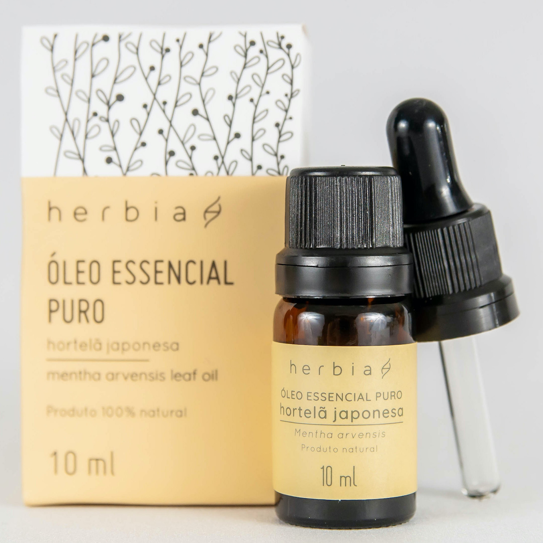Óleo Essencial Herbia de Hortelã Japonesa 10 ml