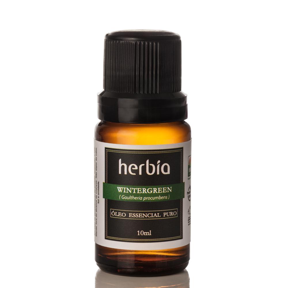 Óleo Essencial Herbia de Wintergreen 10 ml