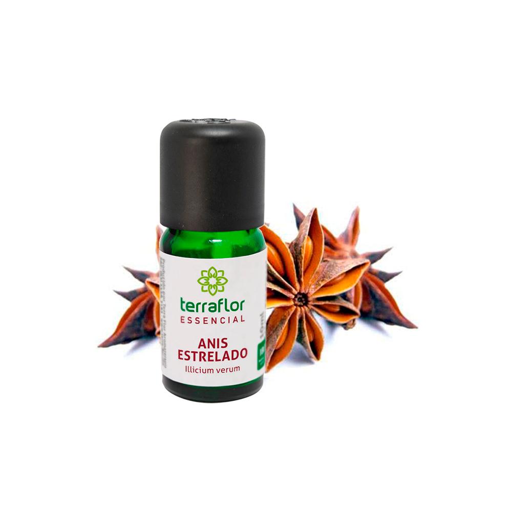 Óleo Essencial Natural de Anis Estrelado Terra Flor 10 ml