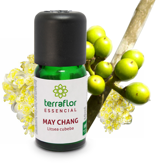 Óleo Essencial Natural de May Chang Terra Flor 10 ml