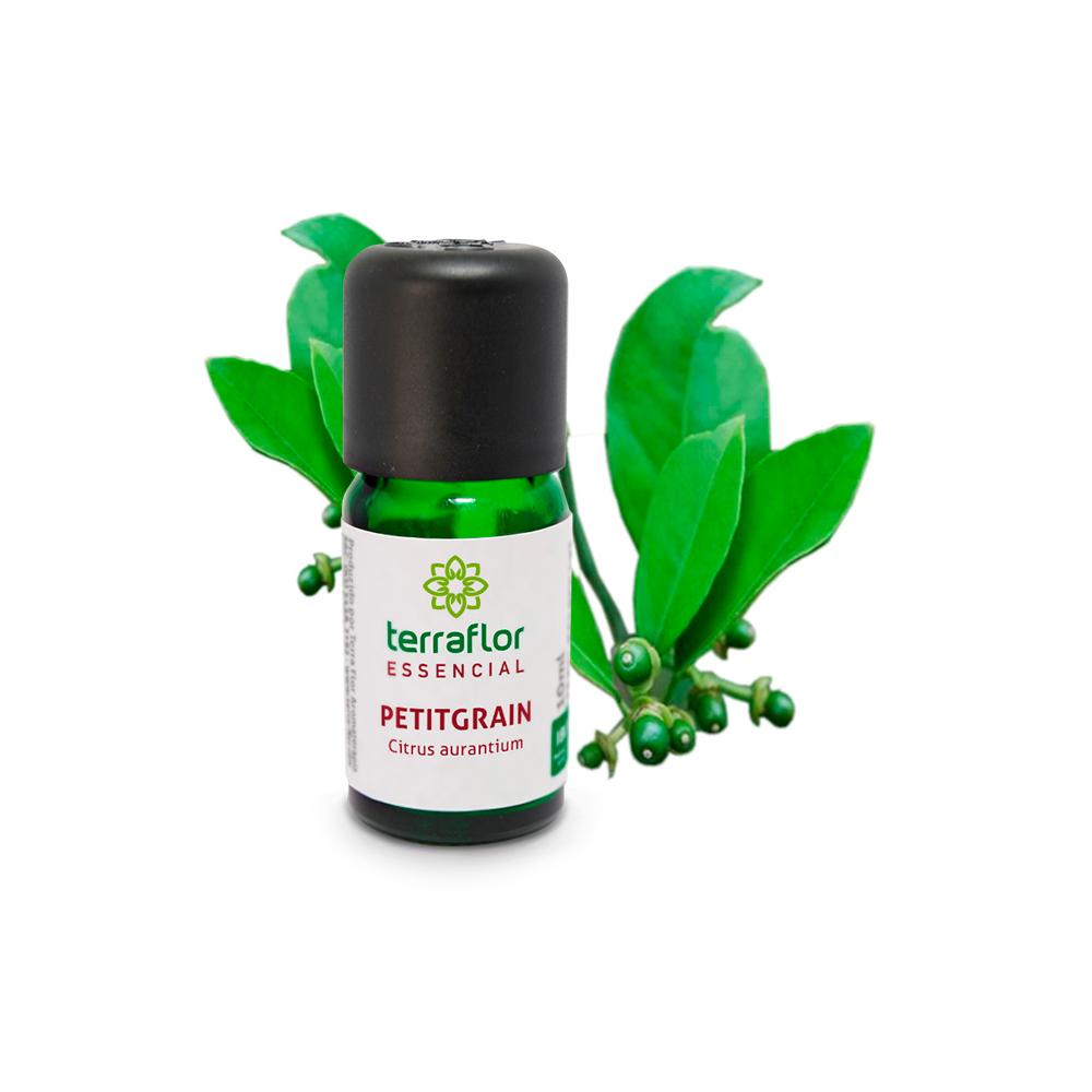 Óleo Essencial Natural de Petitgrain Terra Flor 10 ml