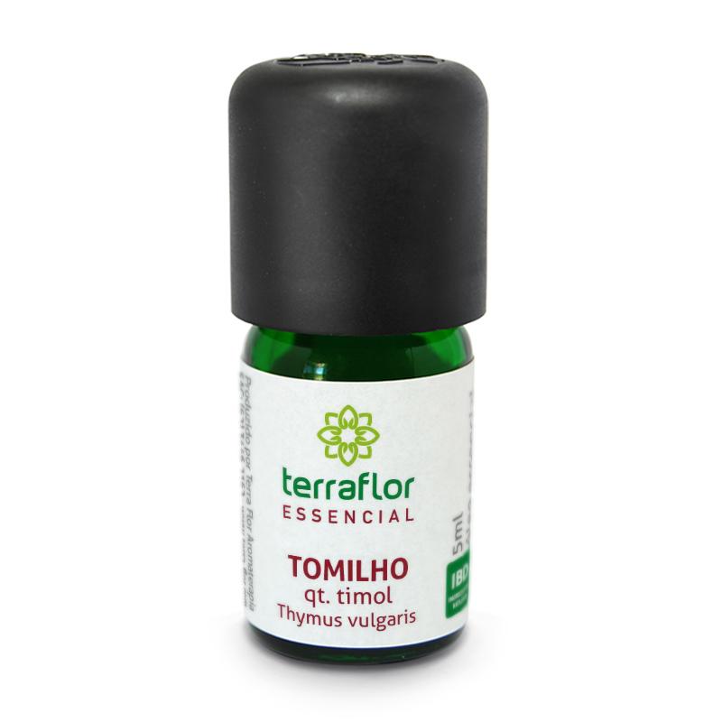 Óleo Essencial Natural de Tomilho qt. Timol Terra Flor 5ml