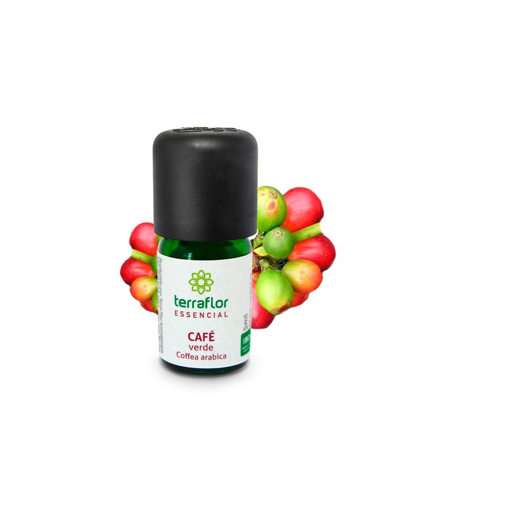 Óleo Essencial Natural e Vegano Café Verde Terra Flor 5 ml