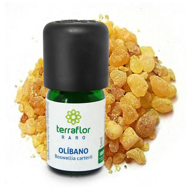 Óleo Essencial Natural Raro Terraflor de Olíbano 5ml