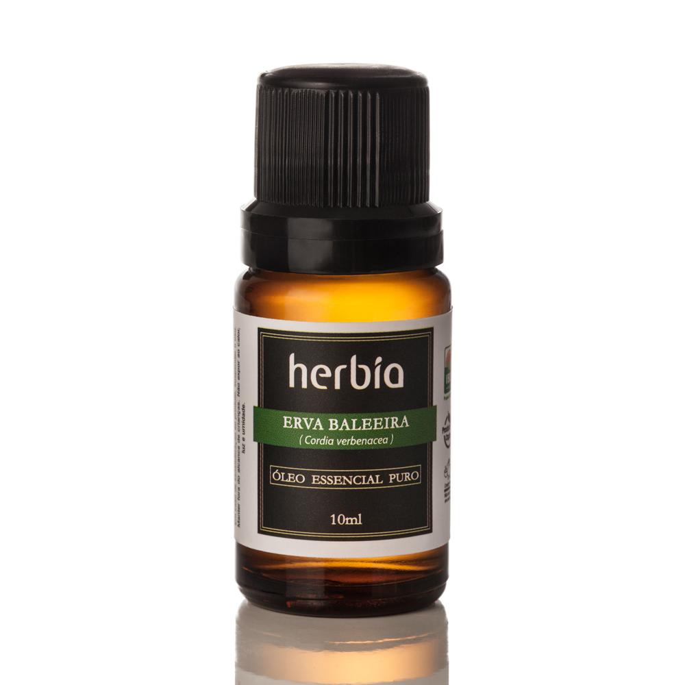 Óleo Essencial Orgânico Herbia de Erva-Baleeira 10 ml